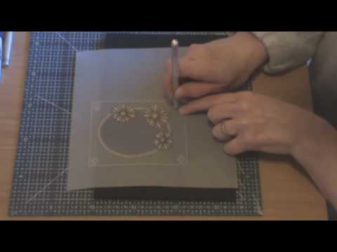 Parchment Craft beginners lesson 1 part 3 of 4