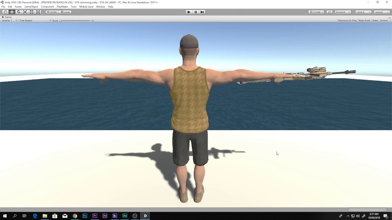 How to change character in Third person controller Unity