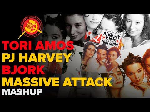 Tori Amos, PJ Harvey, Björk & Massive Attack Mashup by Wax Audio