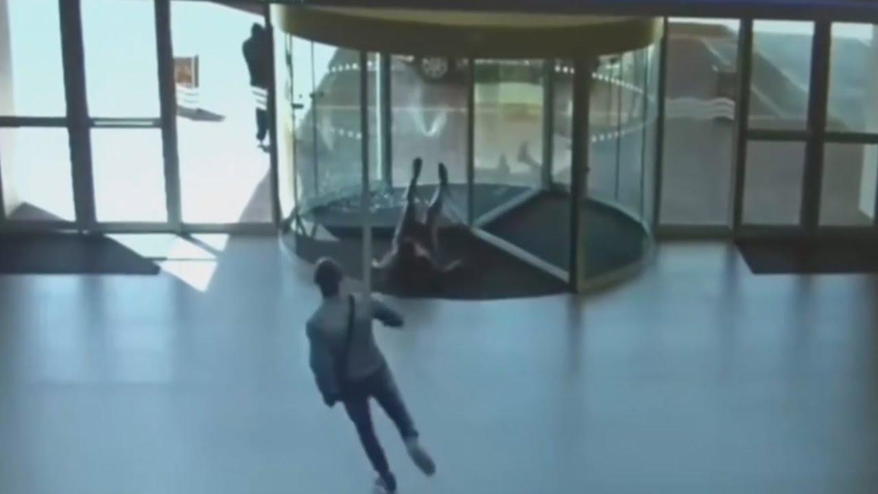 Stupid People Walking into Glass - YouTube