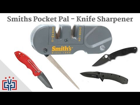 Smith's Pocket Pal Knife Sharpener - How To Use