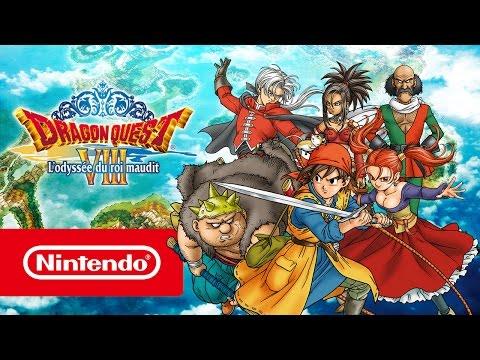 Dragon Quest VIII : L'Odyssée du roi maudit  Bandeannonce de lancement Nintendo 3DS