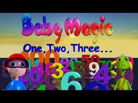 Baby Magic 123-- Part 2 Learning to count numbers