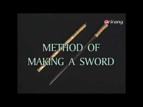 "Comparison of Korea & Japan ""making a sword"""