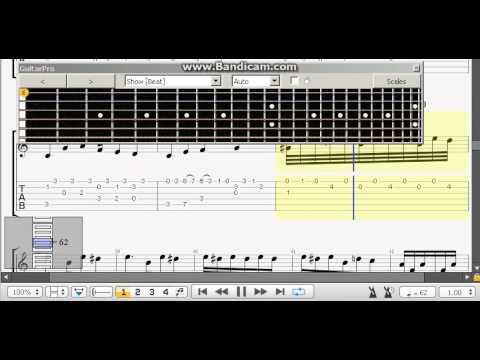 Fur Elise Full Version Guitar Pro Tab