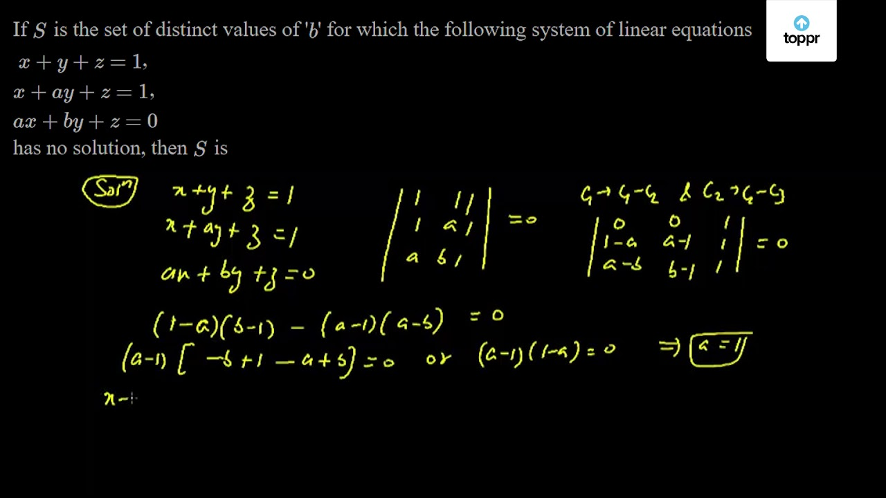 Pair of Linear Equations in Two Variables: Introduction, Videos