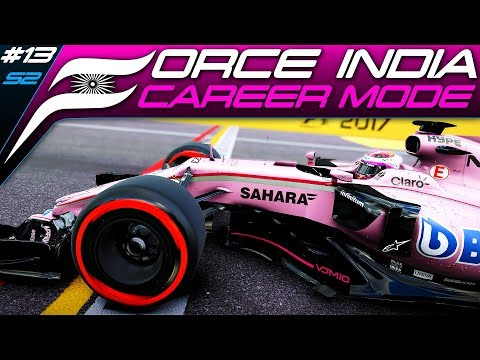 F1 2017 CAREER MODE #33 | DRY TYRES ON A WET TRACK! | Italy