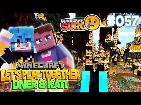 ICH ZÜNDE ALLES AN (sauer wegen SURO 🤬) | Minecraft mit Kati & Dner #57