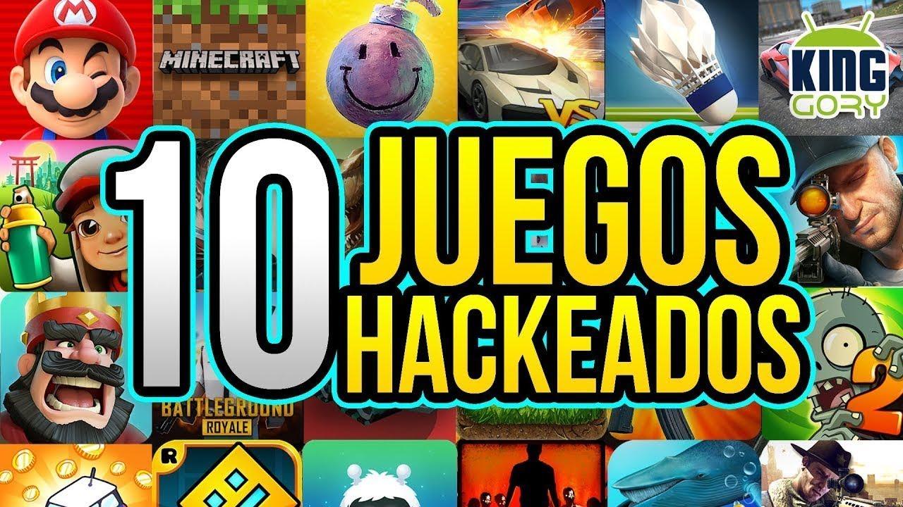 Top 10 Juegos Hackeados Para Android Junio 2018 Youtube