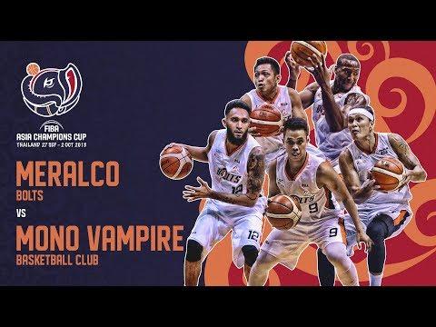 HIGHLIGHTS: Meralco Pilipinas vs. Mono Vampire (VIDEO) FIBA Asia Champions Cup 2018