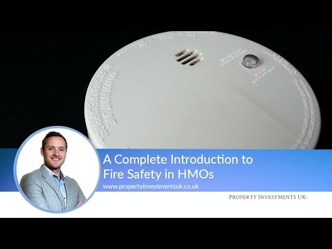 A Complete Introduction to Fire Safety in HMOs