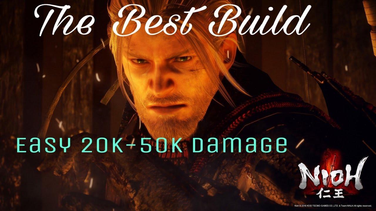 Nioh Best Build 2019 Nioh   BEST BUILD   OP Kusarigama Build (Fanatics)   YouTube