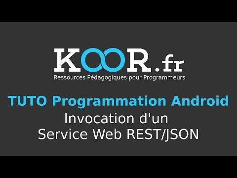 TUTO Android : Invocation D'un Service Web Rest/JSON