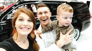 New Family Car Shopping, Is Baby Coming Early & Easter Bunny