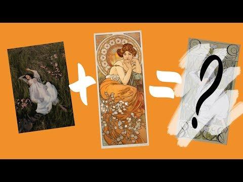 6 Tips to Paint Like Mucha - Art Nouveau Speedpaint