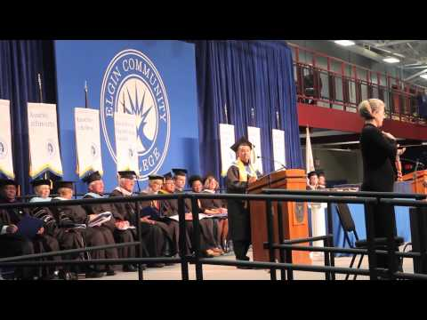 Joel Perez Commencement Speech-Elgin Community College