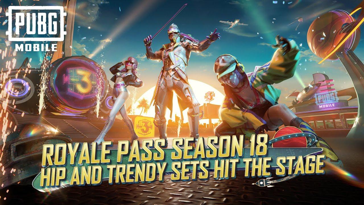 PUBG MOBILE | Royale Pass Season 18