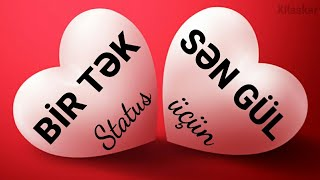 Bir tək sən gül - Status üçün çox gözəl bir video