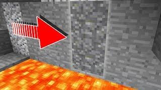 Minecraft's SECRET Underground Rooms