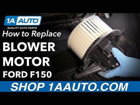 How to Replace Blower Motor 09-14 Ford F-150