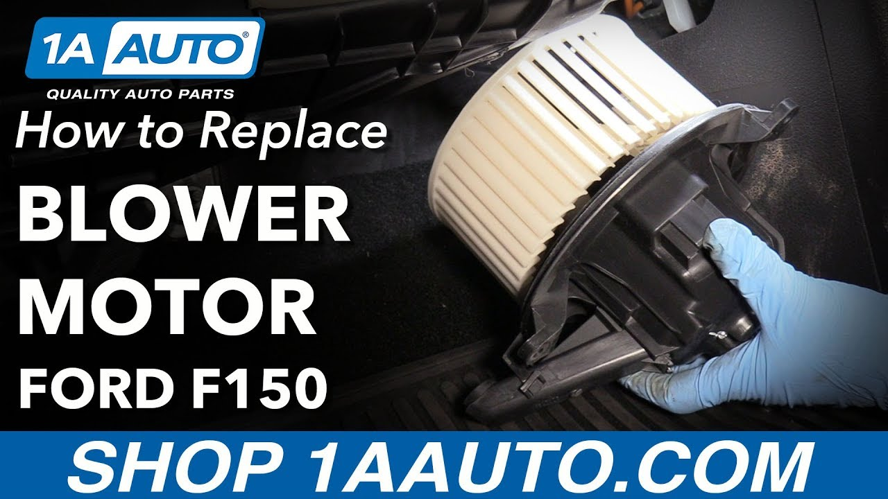 how to replace blower motor 09 14 ford f 150 [ 1280 x 720 Pixel ]