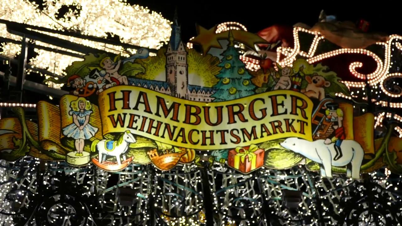 Hamburger Weihnachtsmarkt.Weihnachtsmarkt In Hamburg