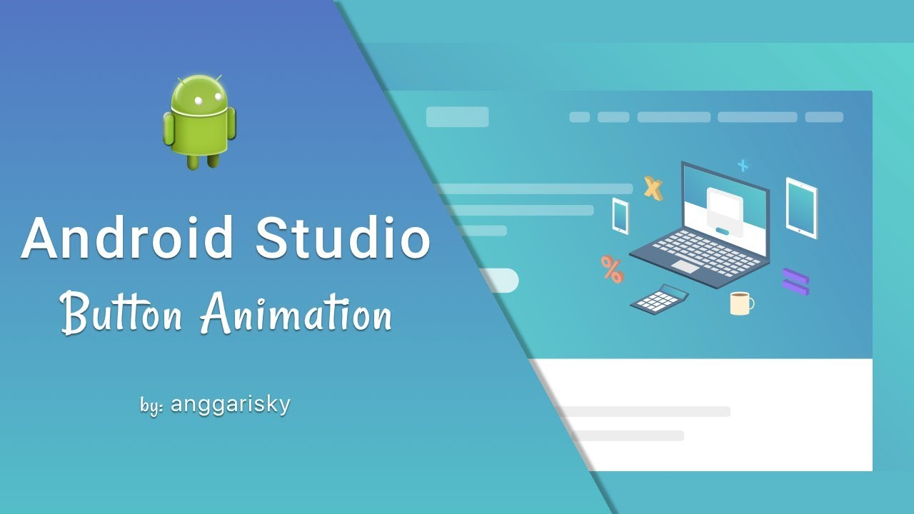 Button Animation using Android XML Tutorial