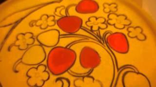 Обучение росписи хохломой на дому