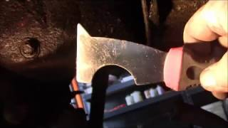 Painter's putty knife tip