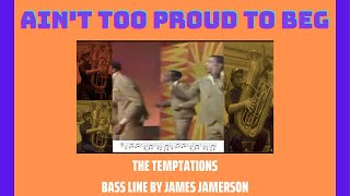 Ain't too proud to beg - The Temptations [TUBA COVER]