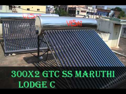 Vesat Solar Water heater.wmv