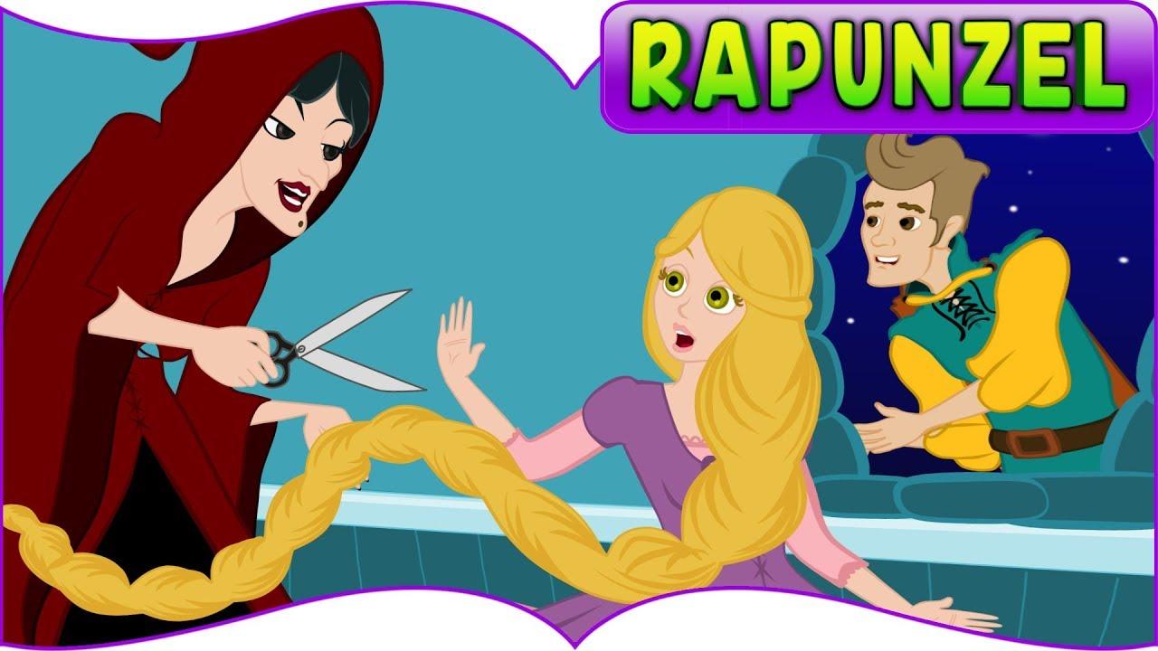 Rapunzel - 12 Dans Eden Prenses | Çizgi Film | Adisebaba masal dinle | Boyama