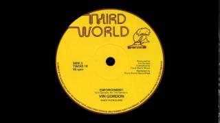 Vin Gordon - Enforcement (THIRD WORLD)