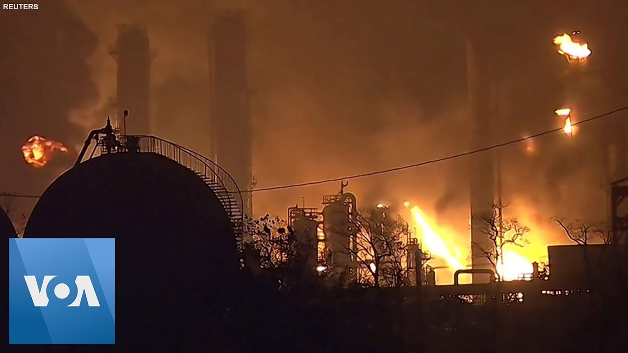 Chemical Plant Explosion in Texas