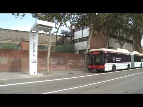 Endesa's ultrafast charging station for electric buses in Barcelona