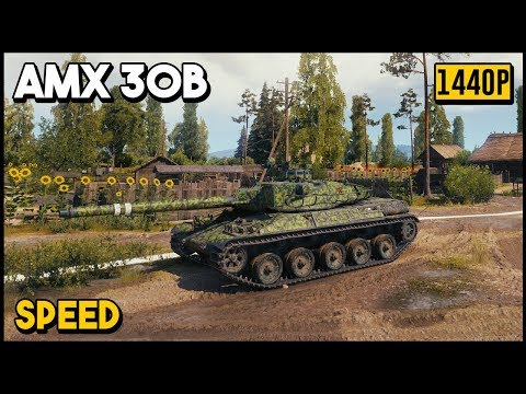 AMX 30B - 9.1k Damage - 7 Kills - World of Tanks thumbnail