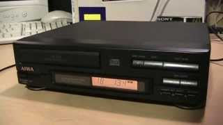 Bric-a-brac cassettes & Aiwa DX-N3 CD player