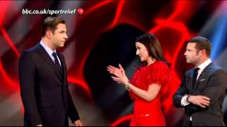 David Walliams on Sport Relief 2012