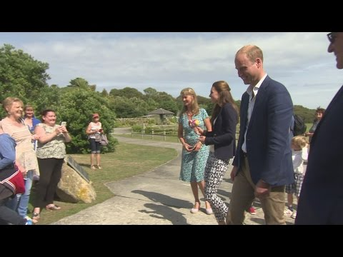 Kate and William pay flying visit to Isles of Scilly