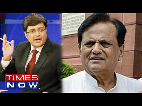 Arnab Goswami Interviews Ahmed Patel on VVIP Chopper Scam | Exclusive
