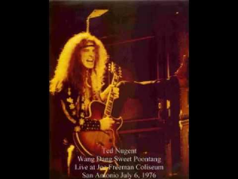 Ted Nugent - Wang Dang Sweet Poontang - Live at Joe Freeman Coliseum, San Antonio July 6, 1976