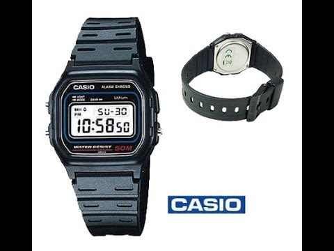 ac1ff636272a Casio F91W. Digital lcd watch. Real or fake   How do you tell. - YouTube