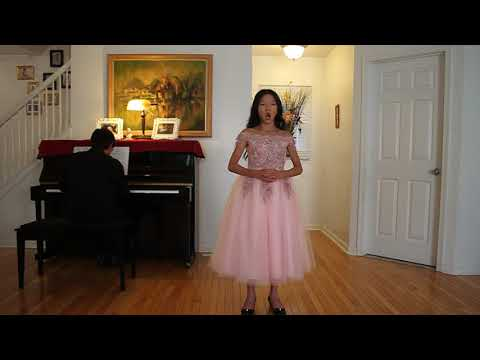 Alicia Chu singing Caro Mio Ben - Giordani