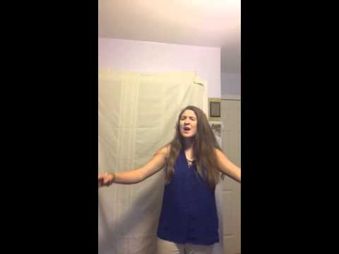 """Malayna Johnson singing """"It's All Coming Back to me"""" by Cel"""