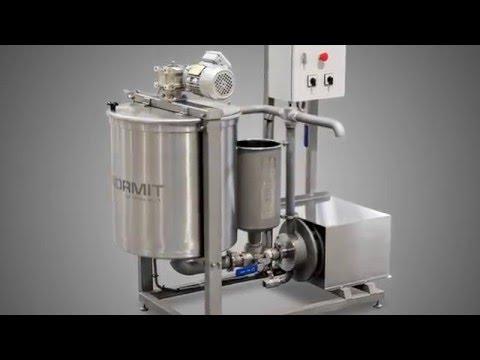 Process mixer with homogenizer / procesný mixér s homogenizátorom