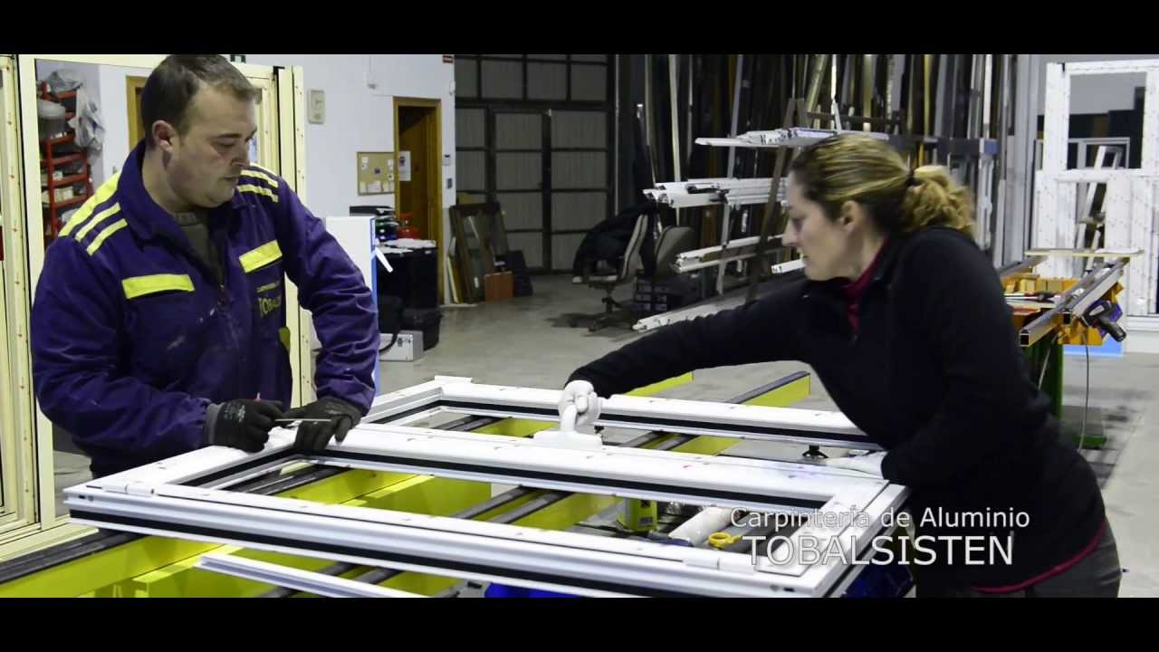 Tobalsisten carpinteria de aluminio viyoutube for Carpinteria de aluminio