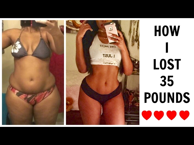 How I Iost 35 Pounds | My Weight Loss Journey