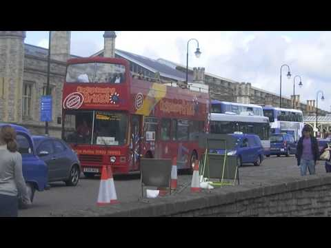 BRISTOL SIGHTSEEING OLYMPIAN E305MSG AT TEMPLE MEADS 100814