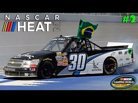 NASCAR HEAT 2 CARREIRA #2 BRASIL SIL SIL