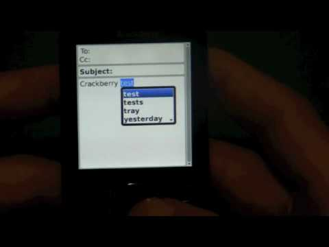Rogers BlackBerry Pearl 3G
